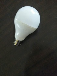 Round Warm White 9w Rechargeable AC DC LED Bulbs, 6 W - 10 W, Base Type: B22