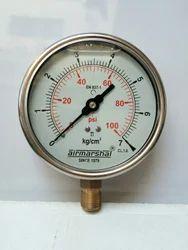 Hydraulic Water Pressure Gauge