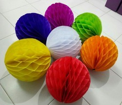 Tissue Honeycomb Paper Ball, For Decoration
