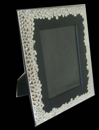 Designer Silver Photo Frame Silver Photo Frame Noida Shimmer