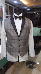 Waistcoat Shirt Set
