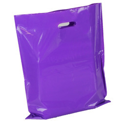 Purple Plain Polythene Bags, for Grocery