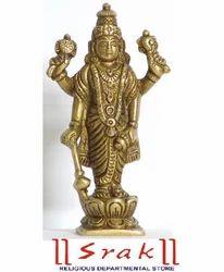 Shri Hari Vishnu Brass Statue