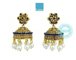 Traditional Antique Jhumka Earrings