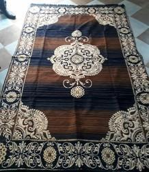 M L Textile Multi colors Multi Chennile Carpets, Size: 6x9 feet