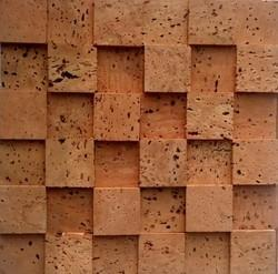 Cork Wall Covering Oak