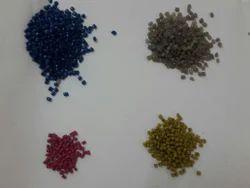 Colour Plastic Granules