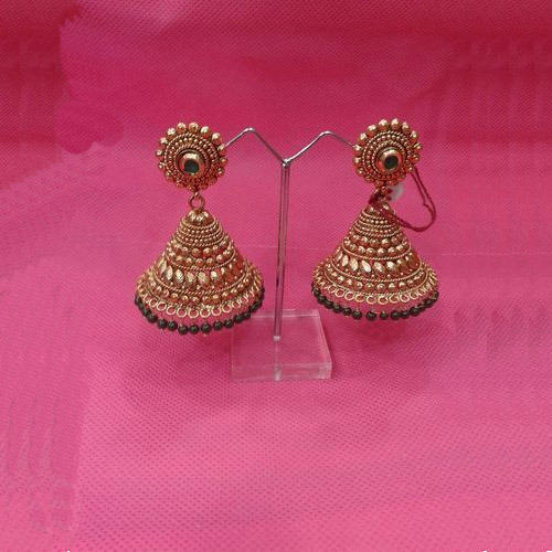 ethnic jhumka earrings at rs 200 pair s imitation earrings