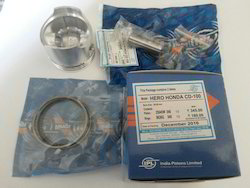 IPL/At-con Aluminium Two Wheelers Piston Kit, 50 MM, for Cd 100 model