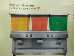 Juice Dispenser - Three Jars