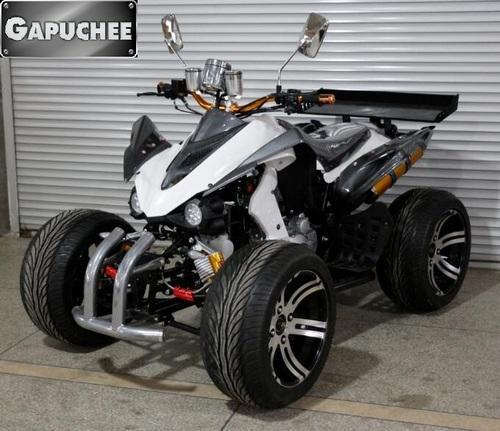 Street Bike Quad: ATV Motorcycle, Quad Bike, White Color 250CC Spy ATV At Rs