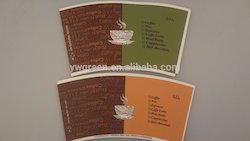 Printed Paper Cup Raw Material