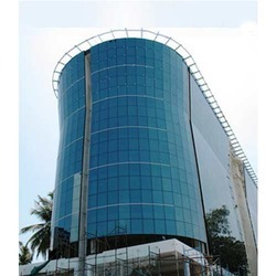 Reflective Aluminum Glazing, For Corporate Office