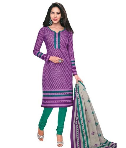 dd3029fd36 Designer Printed Dress Material, प्रिंटेड कॉटन ...