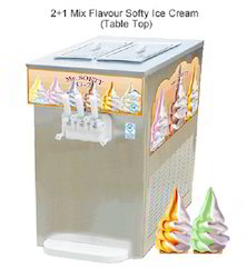 Two Plus One Softy Ice Cream Machine