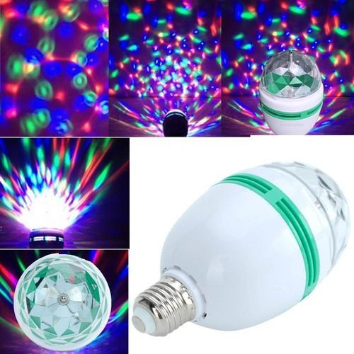 Led Bulb Party Light Disco Effect Full Color 360 Degree