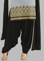 Patiala Suit with Patch Work