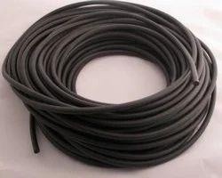 Black Silicon Cord