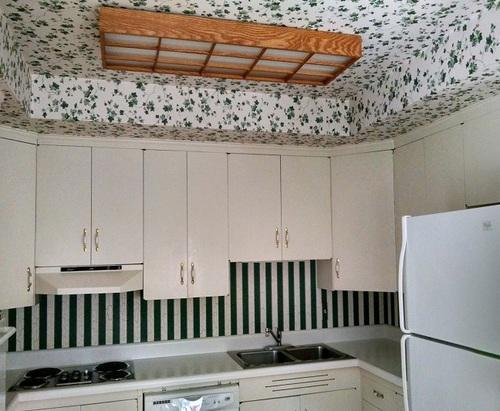 Kitchen Ceiling Wallpaper
