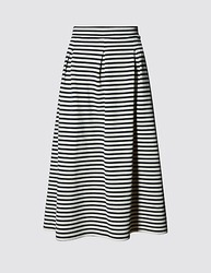 Black and White Ladies Skirts