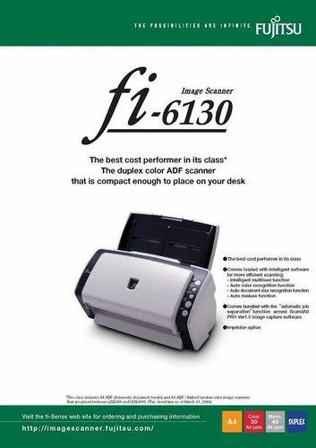 Fujitsu Document Scanners - Fujitsu Fi-6130 Scanners Distributor