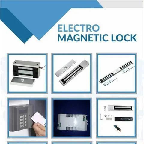 Rfid Magnetic Door Lock System Sameer Creation