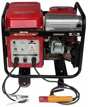 Gastech Bio Power Welder Generator Set GE W 8000R 9 KW