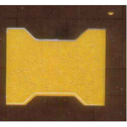 Yellow I Block Brick