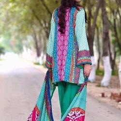 Short Pakistani Linen Suits