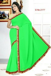 Casual Wear 2177 Chiffon Sarees, With Blouse Piece, 6 Meter