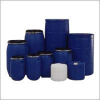 Blue Used Plastic Drums, Capacity: 200-200 litres