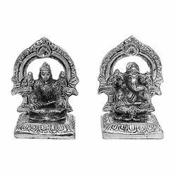 Mehrab Laxmi Ganesha Metal Sculpture