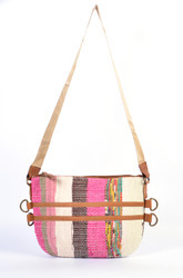 Handmade Carpet Style Multicolor Shoulder Bag