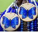 Hand Painted Wooden Ornaments