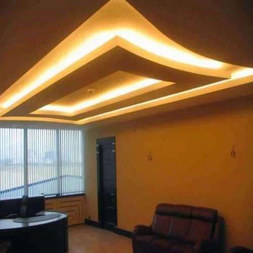 Best Gypsum Ceiling Designs: LED Down Light False Ceiling, False Ceiling Repair Service