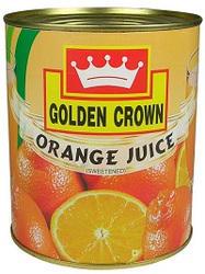 Golden Crown Orange Juice 800 ml, Packaging Type: Carton