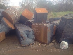 Mixed Alloy Steel Ingot Butts Scrap