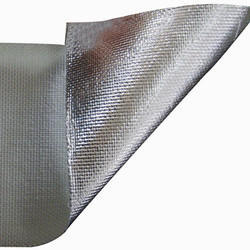 Alumium Silver Coated Fiberglass Cloth, Size: 1.5 Mm X 1m X 50m/Roll, 7019