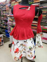 Pair Of Skirt And Red Hot Top