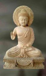 Buddha-Prashanta Wooden Sculpture