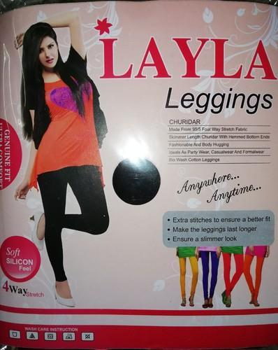 Silicon Bio Wash Churidar Leggings, Free Size