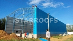 Metal Roofing Industrial Shed