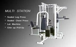 温和钢4站多健身房