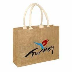Natural Jute Promotional Tote Bags
