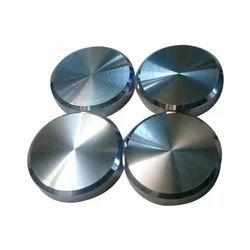 Round Brass Mirror Caps