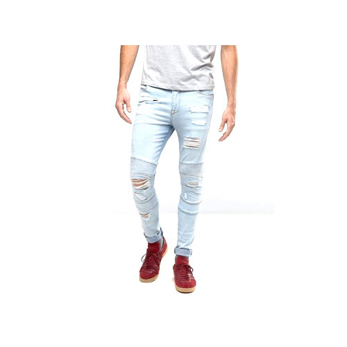 47119029 Casual Mens Skinny Ripped Jeans, Rs 500 /piece, What'O Jeans | ID ...