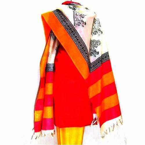 Salwar Kameez Material - Jute Silk Unstitched Salwar Kameez ...
