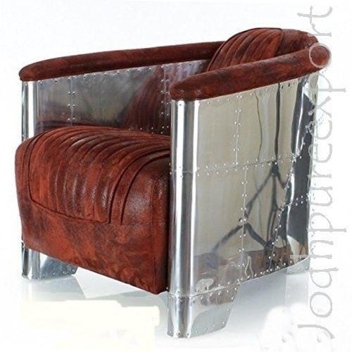 chairs leather aviator furniture vintage uk style chair