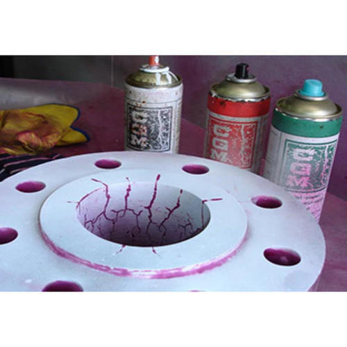 Dye penetration test