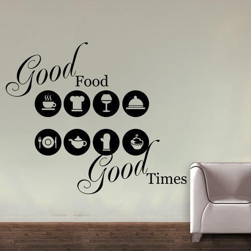 kitchen quotes wall decals at rs 499 /1 sticker | kcc nagar | jaipur